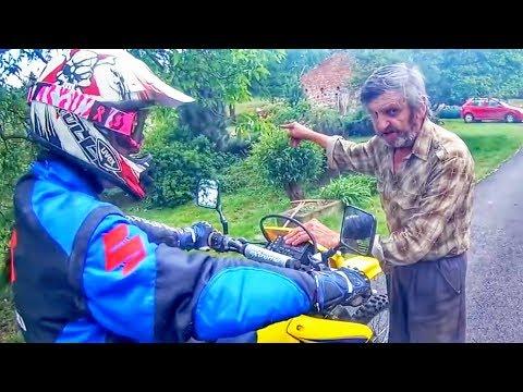 Stupid, Crazy & Angry People vs Bikers 2018 [Ep.#372] (видео)