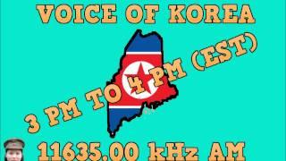 Voice Of Korea Wednesday April-23-2014