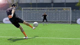 Video freekickerz vs Buffon - Ultimate Football Challenges MP3, 3GP, MP4, WEBM, AVI, FLV Februari 2019