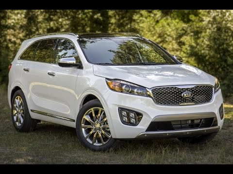 2016 Kia Sorento Start Up and Review 3.3 L V6