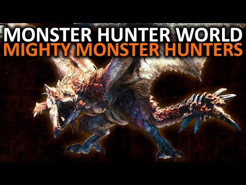 Monster Hunter World - Mighty Monster Hunters Return with Rathian and Rathalos
