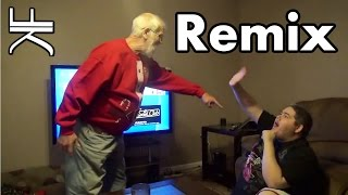 Video Angry Grandpa Destroys PS4 (HipHop Remix) MP3, 3GP, MP4, WEBM, AVI, FLV Mei 2017