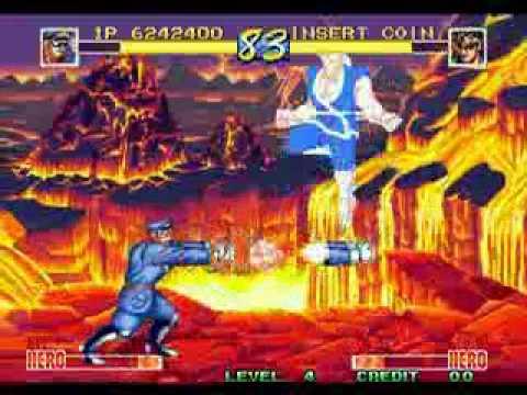 World Heroes Perfect Neo Geo