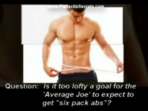 Flat Abs Exercises and Flat Stomach Workouts Made Surprisingly Easy?
