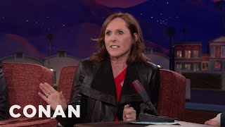 "Molly Shannon's Real Life ""Sex And The City"" Moment With Sarah Jessica Parker  - CONAN On TBS"