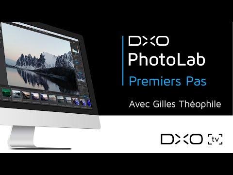 Premiers pas avec DxO PhotoLab