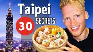 Video 30 Secrets & Best Places in Taipei, Taiwan MP3, 3GP, MP4, WEBM, AVI, FLV April 2019