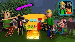Monster School Baldi' basic FIELD TRIP Part 2 - Minecraft Animation