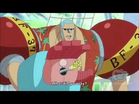 One Piece - Franky impresses Usopp and Chopper after 2 years HD