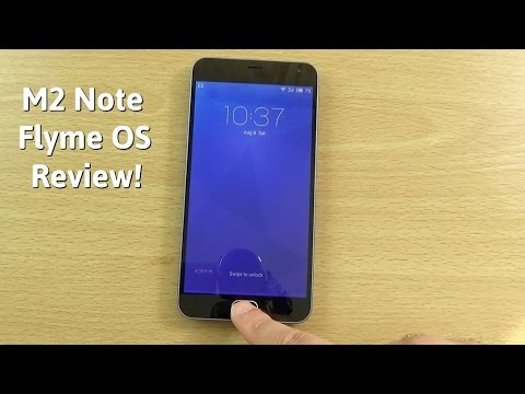 Meizu M2 Note - Flyme OS 4.5 Review