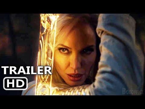 ETERNALS Official Teaser (2021) Angelina Jolie, Marvel Movie