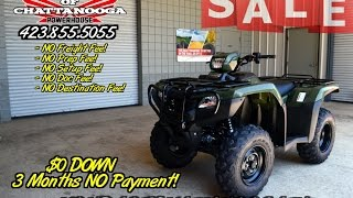 9. 2016 Honda Foreman ES 500 ATV Review of Specs & Features - Discount Pricing at Honda of Chattanooga!
