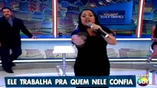 Cassiane No Programa Do Ratinho Canta