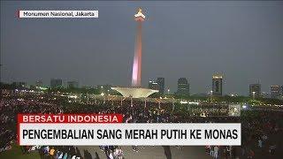 Video Sang Merah Putih Kembali ke Monas #BersatuIndonesia #17Agustus MP3, 3GP, MP4, WEBM, AVI, FLV Agustus 2018