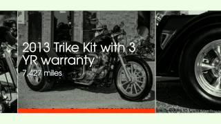 8. 2009 Harley Sportster XL883L MotorTrike @ Hual's