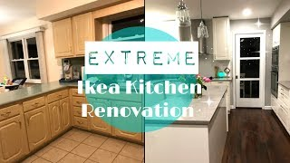 IKEA KITCHEN REMODEL // EXTREME IKEA KITCHEN RENOVATION 2017