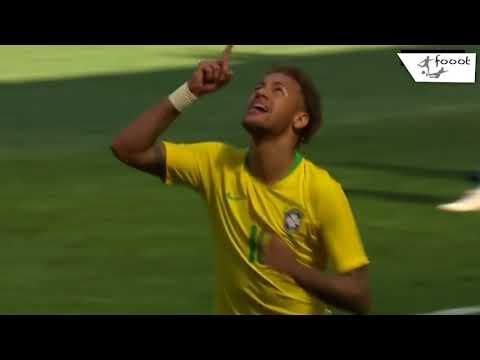 Brazil vs Croatia 2 - 0   All Goals & Highlights   3 - 6 - 2018 HD