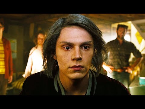 Quicksilver Scene - Quicksilver Meets Wolverine | X-Men: Days Of Future Past (2014) Movie Clip
