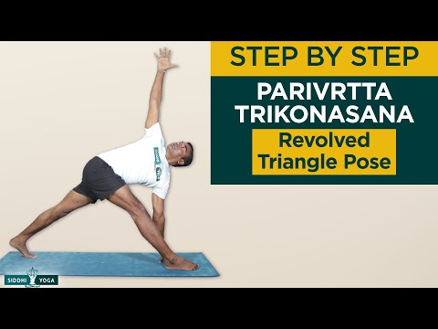 Parivrtta Trikonasana (Revolved Triangle Pose)