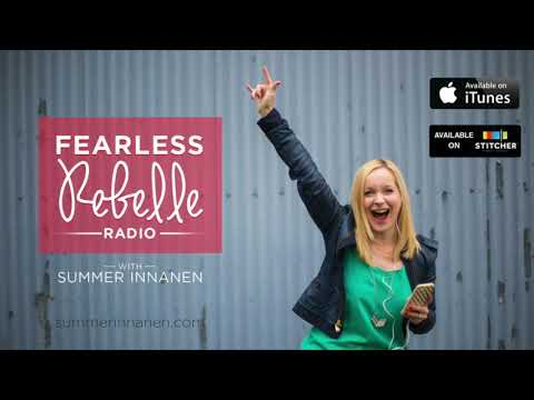 Fearless Rebelle Radio #174 - 1:My Story & Lessons Learned Recovering From Chronic Dieting/Body Hate