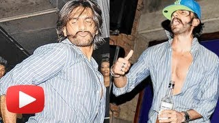Ranveer Singh Dances On Deepika Padukone's Song At A Hotel