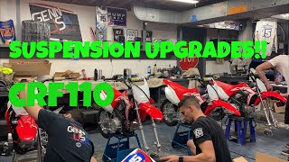 10. PITBIKE UPGRADES 2019 CRF110!!