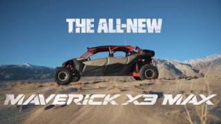 7. 2017 Can-am : in-depth details of the Maverick X3 MAX