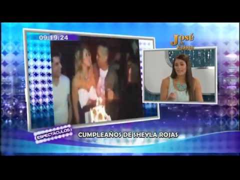 Sheyla Rojas pasa su cumpleaños junto a Patricio Parodi