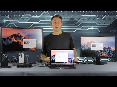 , title : 'MacBook Pro 2016 + Plugable USB-C Docking Station & Display Adapters'