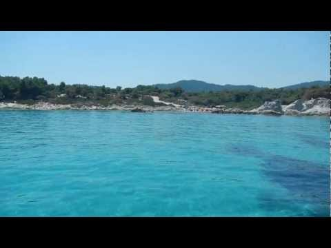 Παραλία καβουρότρυπες