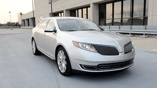 2013 Lincoln MKS - WINDING ROAD POV Test Drive