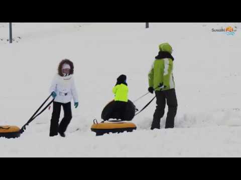 Narty w WOSiR Szelment. Króluje snowtubing, czyli zjeżdżamy na pontonach