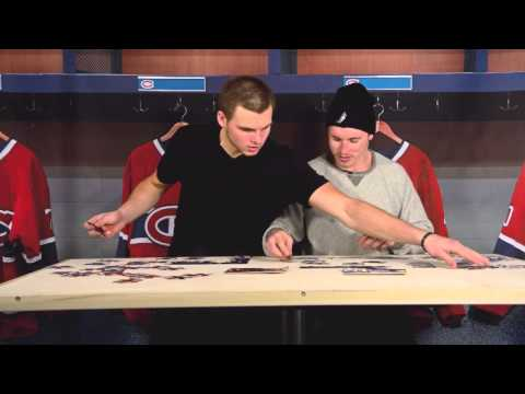 duel - Alex Galchenyuk and Brendan Gallagher race to put the pieces together in the latest episode of The Duel.