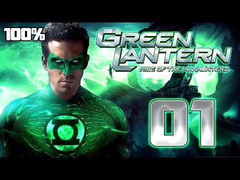 Green Lantern: Rise of the Manhunters Walkthrough Part 1 (PS3, X360) 100% Mission 1