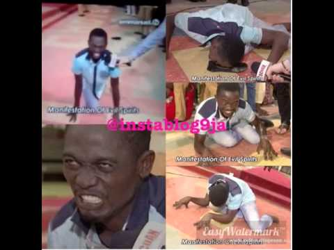How a Man 'turned into a Dog' During Deliverance Session At TB Joshua's Church