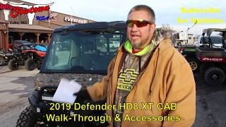 9. 2019 Defender HD8 XT CAB Walkthrough & Accessories