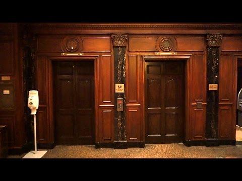 Beautiful vintage OTIS traction elevators (mod) @ The Hotel Roanoke & Conference Center, Roanoke, VA