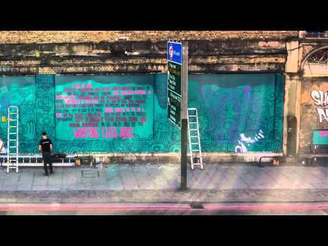 Best Friend London Mural Time-Lapse