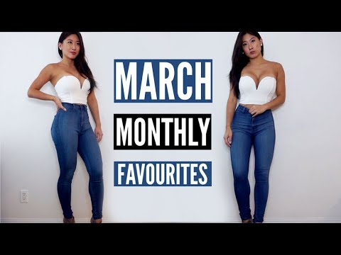 MARCH MONTHLY FAVOURITES | Makeup, Skincare & Fitness