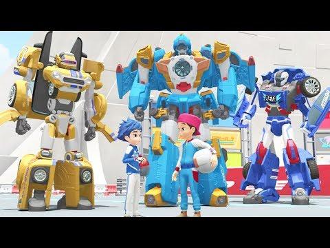TOBOT Athlon English | 106B - Blue Sky Burst | NEW! | Season 1 Full Episode | Kids Cartoon