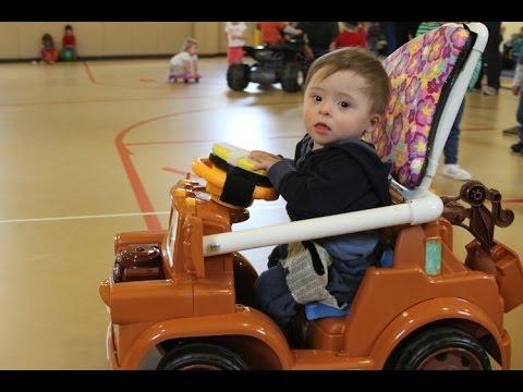 Alternative zu einem Elektro-Rollstuhl für beeinträchtigte Kinder