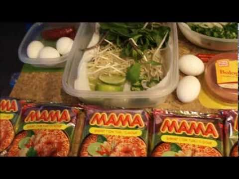 How To Cook & CUSTOMIZE Your Mama Shrimp Thai TUM YUM Instant Noodles !
