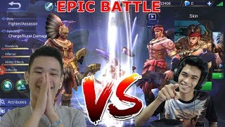 Download Video Epic Battle Top Global Jess No Limit VS Top Songong Pege Lopeeersss - Funny Battle MP3 3GP MP4