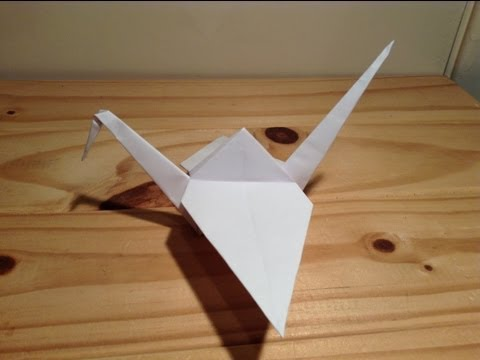 Bird Tutorial - 038 -- Crane