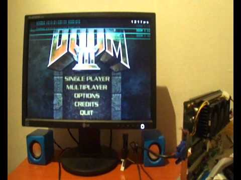 Doom 3 With The Voodoo5 6000 Gold Second Edition