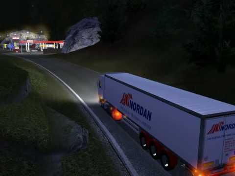 Euro Truck Simulator 2008 load to Wien1