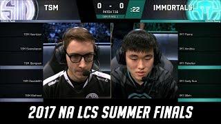 Video TSM vs IMT - Game 1 Grand Finals S7 NA LCS Summer 2017  - Team SoloMid vs Immortals MP3, 3GP, MP4, WEBM, AVI, FLV Oktober 2017