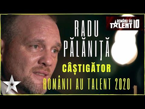 CÂŞTIGĂTOR - Românii au talent 2020: RADU Palaniță 'My Way   Mecanicul auto cu VOCE DE AUR!