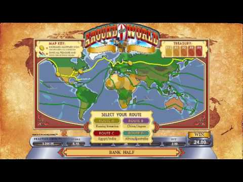 Around the World slot game [GoWild Casino]