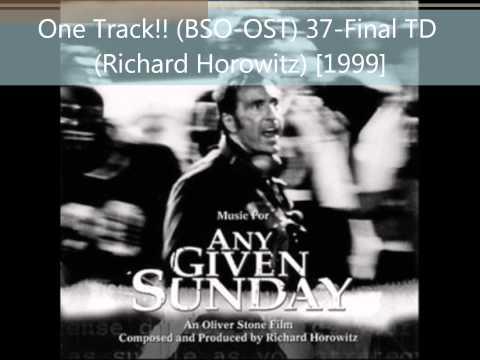Final TD (Richard Horowitz)